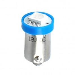 T4W 12V 0,24W BA9s (ΜΙΝΙΟΝ) ΛΑΜΠΑΚΙ LED 1xSMD5050 ΜΠΛΕ M-TECH - 1 ΤΕΜ.