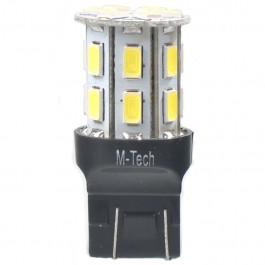 Λαμπες LED Αυτοκινητου - W21W/5W (T20) 12V W3x16d LED 21xSMD5630 6W PREMIUM ΛΕΥΚΟ 1ΤΕΜ. ΜΟΝΟΠΟΛΙΚΟ M-TECH Λαμπάκια LED Αξεσουαρ Αυτοκινητου - ctd.gr