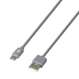 ΚΑΛΩΔΙΟ ΦΟΡΤΙΣΗΣ & ΣΥΓΧΡΟΝΙΣΜΟΥ USB TYPE-C 200cm ΓΚΡΙ ESSENTIALS LAMPA - 1 ΤΕΜ. Καλώδια φόρτισης USB Αξεσουαρ Αυτοκινητου - ctd.gr