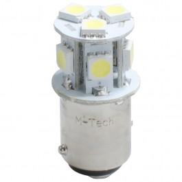 Λαμπες LED Αυτοκινητου - P21/5W 24V BAY15d LED 8xSMD5050 0,24W ΛΕΥΚΟ (ΔΙΠΟΛΙΚΟ) 1ΤΕΜ. M-TECH Λαμπάκια LED Αξεσουαρ Αυτοκινητου - ctd.gr