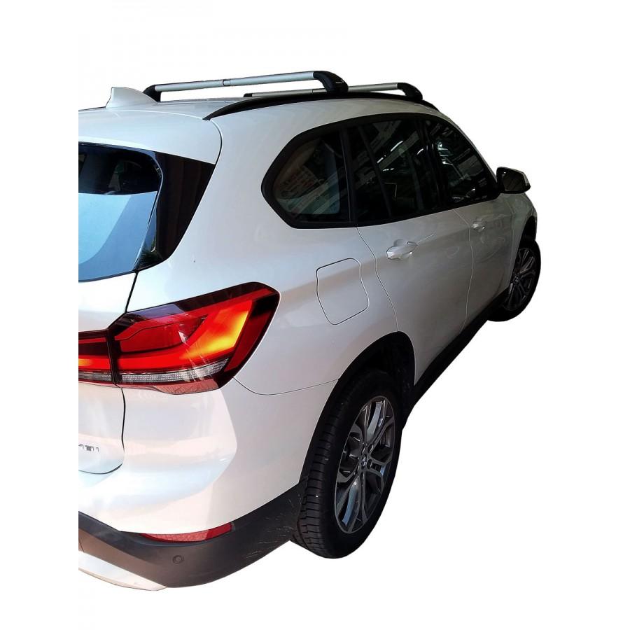 Μπαρες για Μπαγκαζιερα - Kit Μπάρα Αλουμινίου NORDRIVE - Πόδια για BMW X1 (F48) 2015+
