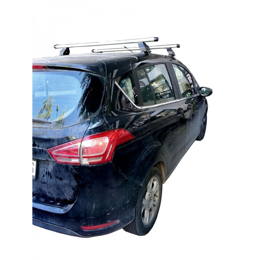 Μπαρες για Μπαγκαζιερα - Kit Μπάρες Αλουμινίου MENABO - Πόδια για Ford B-Max 2012+