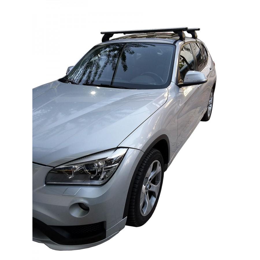Μπαρες για Μπαγκαζιερα - Kit Μπάρες Αλουμινίου NORDRIVE Silenzio - Πόδια για BMW X1 2009-2015