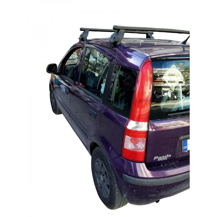 Μπαρες για Μπαγκαζιερα - Kit Μπάρες - Πόδια MENABO για Fiat Panda 2003-2012