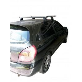 Μπαρες για Μπαγκαζιερα - Kit Μπάρες Αλουμινίου Menabo - Πόδια για Nissan Almera N16 3D 2000-2006 2 τεμάχια
