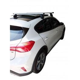 Μπαρες για Μπαγκαζιερα - Kit Μπάρες Οροφής Αλουμινίου MENABO - Πόδια για Ford Focus 2018+ (με ηλιοροφή) 2 τεμάχια