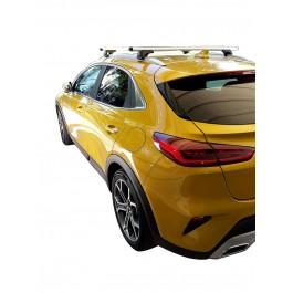 Μπαρες για Μπαγκαζιερα - Kit Μπάρες Οροφής Αλουμινίου NORDRIVE με Πόδια για Kia X-Ceed 2019+ 2 τεμάχια