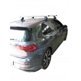 Μπαρες για Μπαγκαζιερα - Kit Μπάρες οροφής - Πόδια Αλουμινίου MENABO για VW GOLF 8 2020+ (& για ηλιοροφή αλλά δεν ανοίγει) 2 τεμάχια