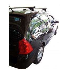 Μπαρες για Μπαγκαζιερα - Kit Μπάρες οροφής MENABO Αλουμινίου - Πόδια για Peugeot 307 SW 2002-2008 2 τεμάχια