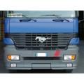 Eπιχρωμιομένο Μεταλλικό Έμβλημα Φορτηγού Αυτοκόλλητα Φορτηγών