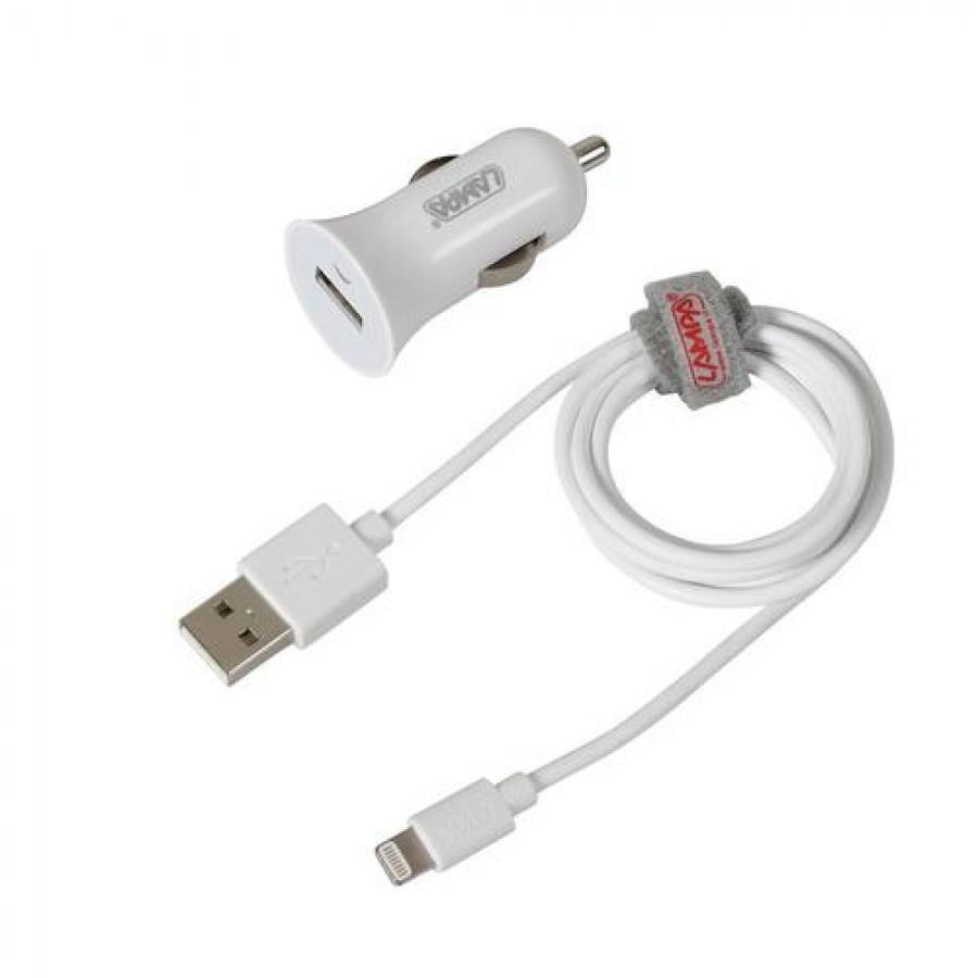 Καλώδιο Φορτισης / Συγχρονισμού USB για Apple 100cm 8pin με αντάπτορα USB αναπτήρα Καλώδια φόρτισης USB Αξεσουαρ Αυτοκινητου - ctd.gr