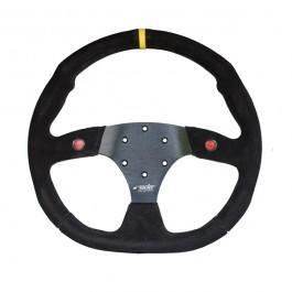 ΤΙΜΟΝΙ X2 COMPETITION ΜΑΥΡΟ ΤΡΙΑΚΤΙΝΟ ΜΕ 2 ΜΠΟΥΤΟΝ ΚΑΙ ΚΙΤΡΙΝΗ ΡΙΓΑ 350mm Τιμόνια Αξεσουαρ Αυτοκινητου - ctd.gr