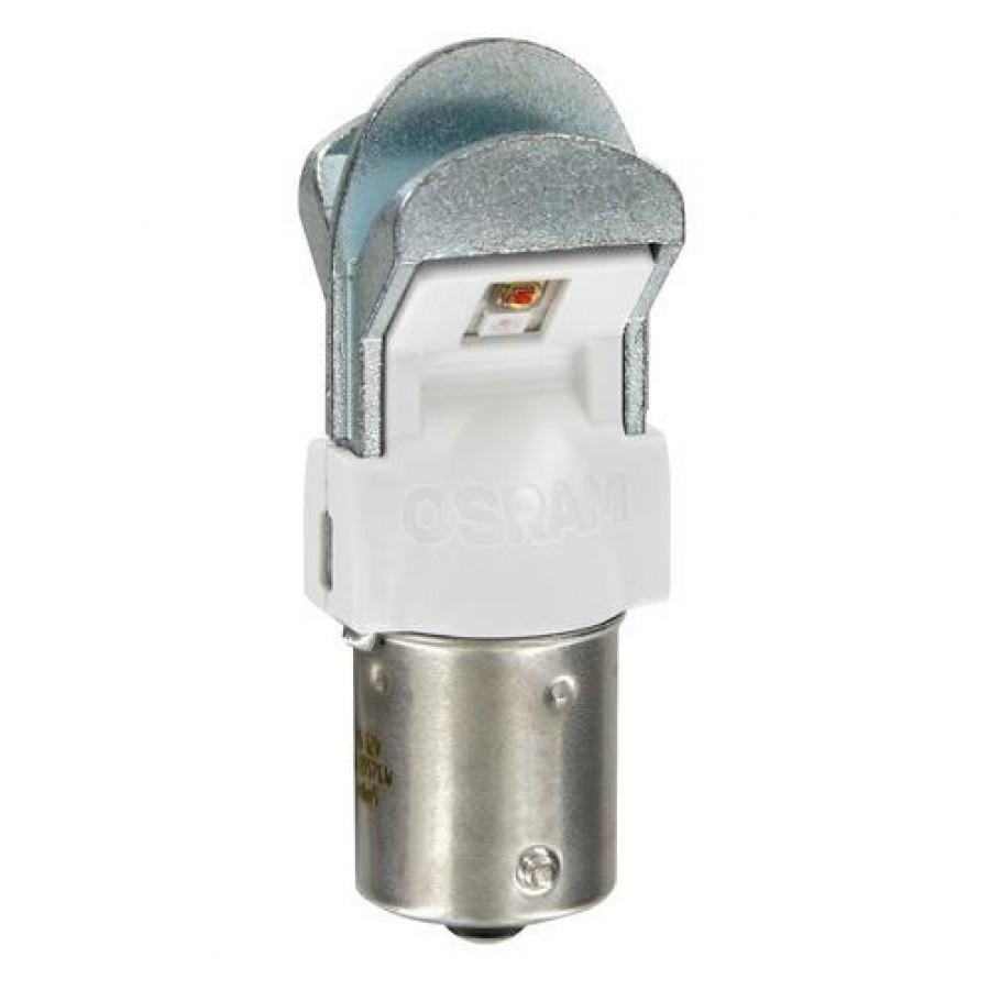 OSRAM LEDriving PREMIUM P21W - 12V -  BA15s (ΠΟΡΤΟΚΑΛΙ/ΔΙΠΛΗΣ ΠΟΛΙΚΟΤΗΤΑΣ) - 2 ΤΕΜ. BLISTER Λαμπάκια LED